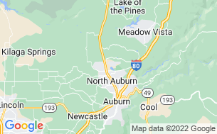 Map of Auburn Gold Country RV Park