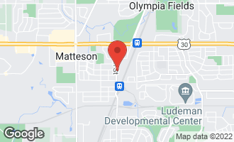 Map of 3551 213th Street MATTESON, IL 60443