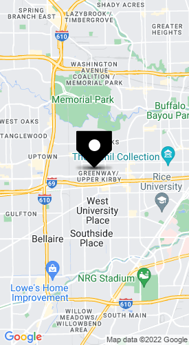 Map of CMedEd at 3555 Timmons Lane, Suite 655, Houston, TX 77027