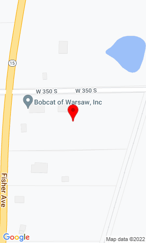 Google Map of Bobcat of Warsaw, Inc. 3568 South State Road 15, Warsaw, IN, 46580