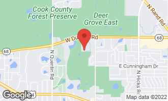 Map of 357 West Tanglewood Avenue PALATINE, IL 60067