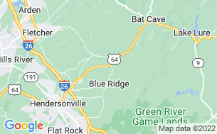Map of Blue Ridge Travel Park