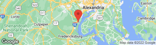 Map of 3578 CLINTON ROSS COURT #9 TRIANGLE, VA 22172