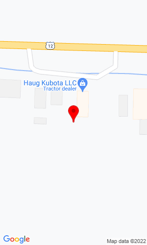 Google Map of Haug-Kubota, LLC 3585 E. Highway 12, Willmar, MN, 56201