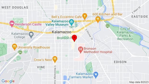 Google Map of 359 S. Kalamazoo Mall, Kalamazoo, MI 49008