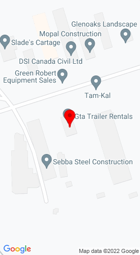 Google Map of Markham Equipment Sales 36 Cardico Drive, Gormley, Ontario, Canada,