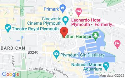 Map of PRC Premises : 36 Looe Street, PL4 0EB