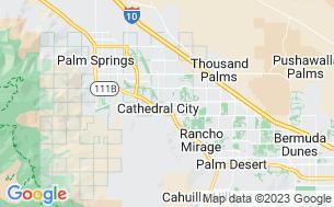 Map of Palm Springs Oasis RV Resort