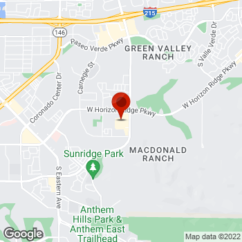 Map of Staples® Print & Marketing Services at 675 S Green Valley Parkway, Henderson, NV 89052