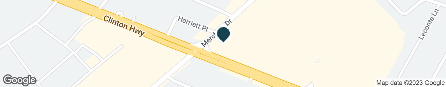 Google Map of5320 CLINTON HWY