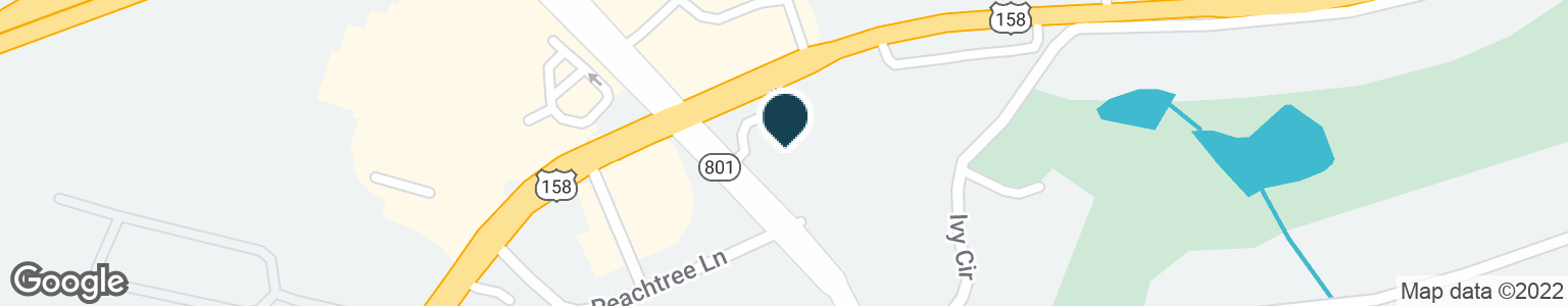 Google Map of5322 US HIGHWAY 158