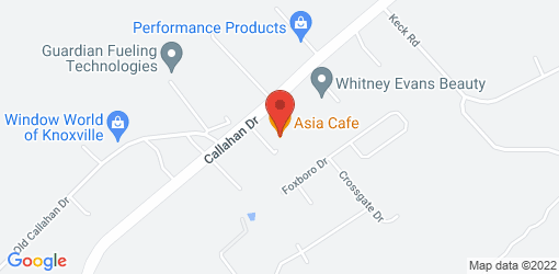 Directions to Asia Cafe