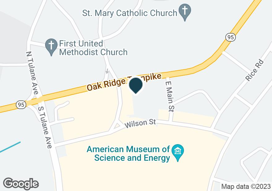Google Map of1299 OAK RIDGE TPKE