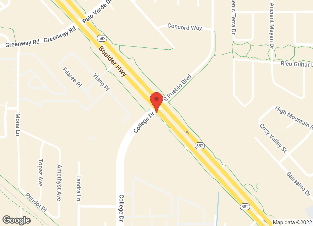 Google Map of VCA Black Mountain Animal Hospital