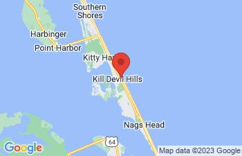 Map of Kill Devil Hills