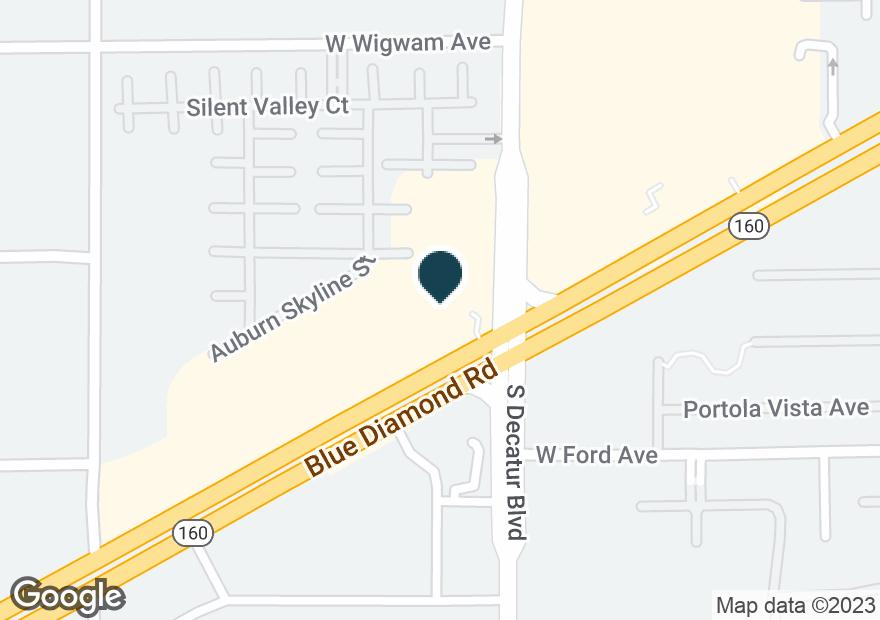 Google Map of4930 BLUE DIAMOND RD