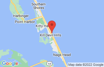 Map of Kill Devil Hills