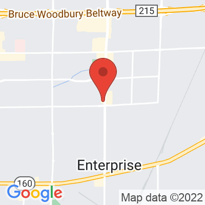 Map showing Bad Owl Coffee Roasters