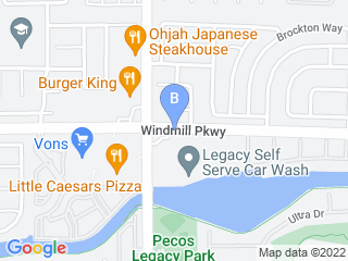 Map of Legacy Animal Hospital Dog Boarding options in Henderson | Boarding