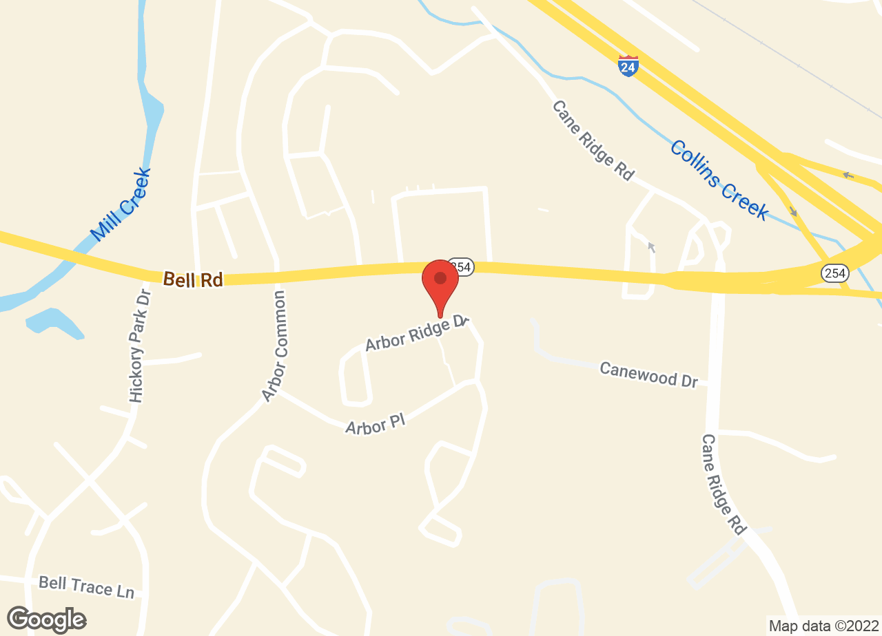 Google Map of VCA PetMed Animal Hospital