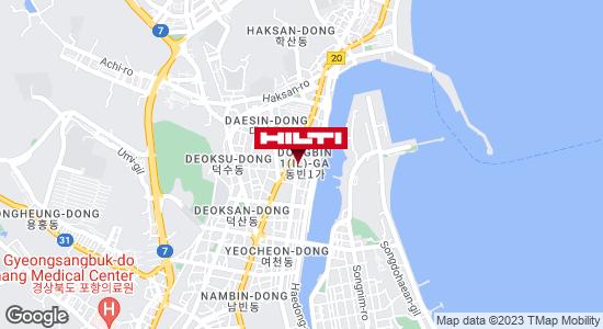 Get directions to 포항북구용흥326