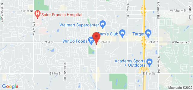 Southwood Florist Map