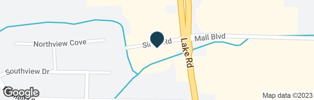 Google Map of2615 LAKE RD