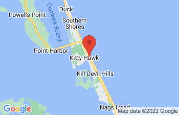 Map of Kitty Hawk