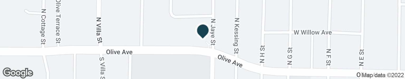 Google Map of416 W OLIVE AVE