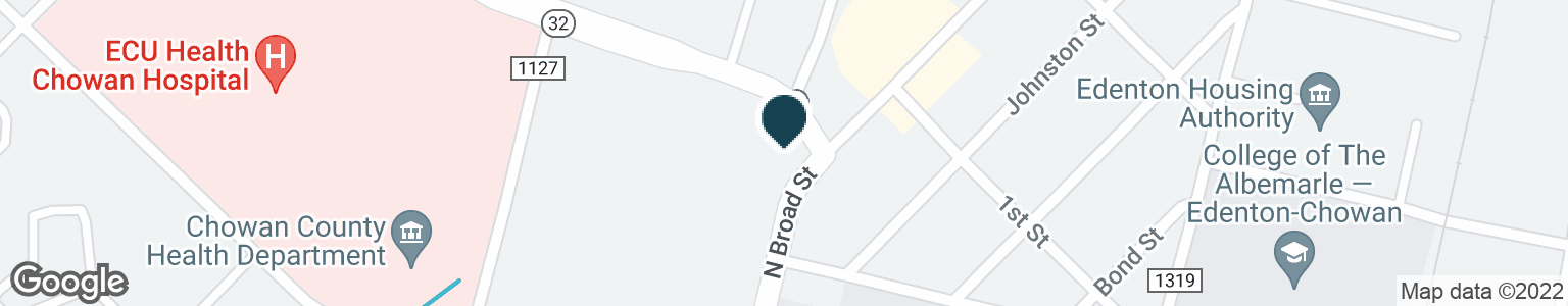 Google Map of717 N BROAD ST