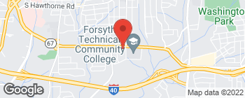 Map of 2200 Silas Creek Pkwy in Winston Salem