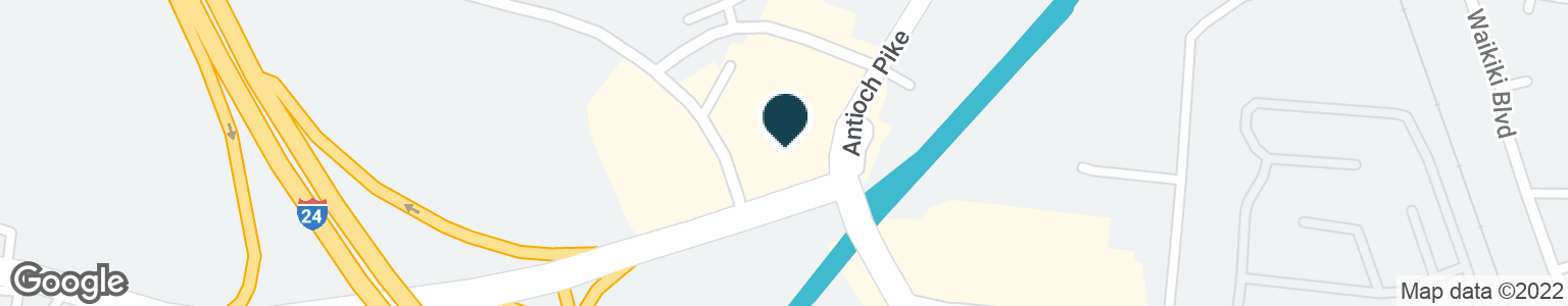 Google Map of1809 ANTIOCH PIKE