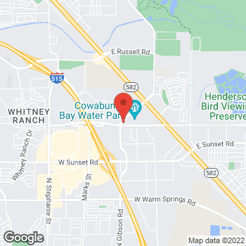 Map of Dignity Health Urgent Care - Henderson, NV at 800 N Gibson Rd, Henderson, NV 89011
