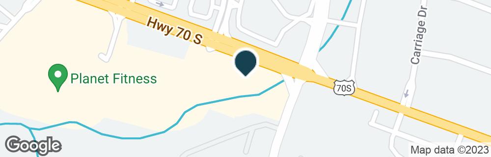 Google Map of7601 HIGHWAY 70 S
