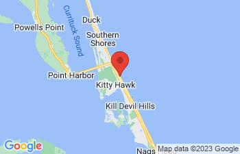 Map of Kitty Hawk