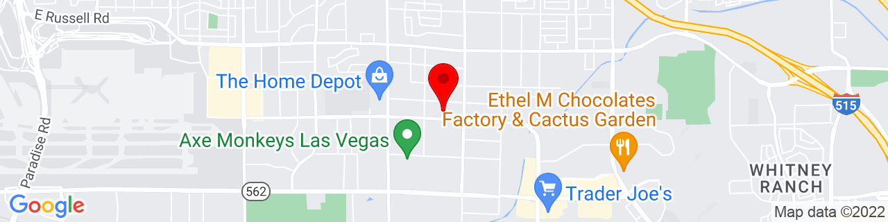 Google Map of 36.0795613, -115.094045