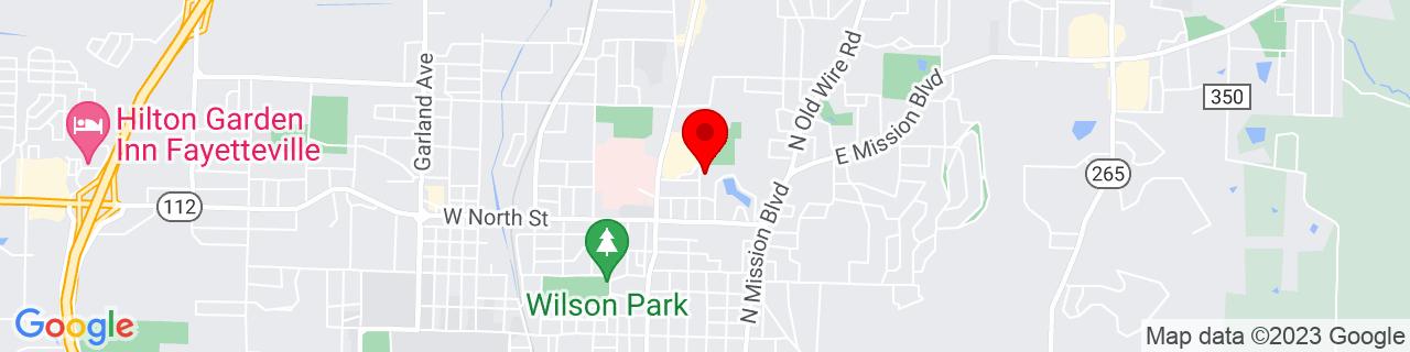 Google Map of 36.080087, -94.153196