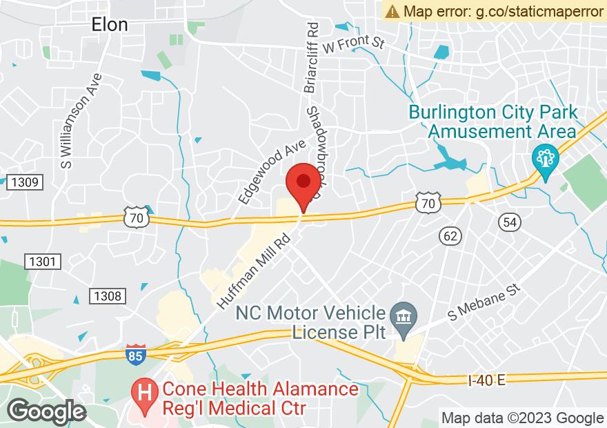 Google Map of 2585 S CHURCH ST