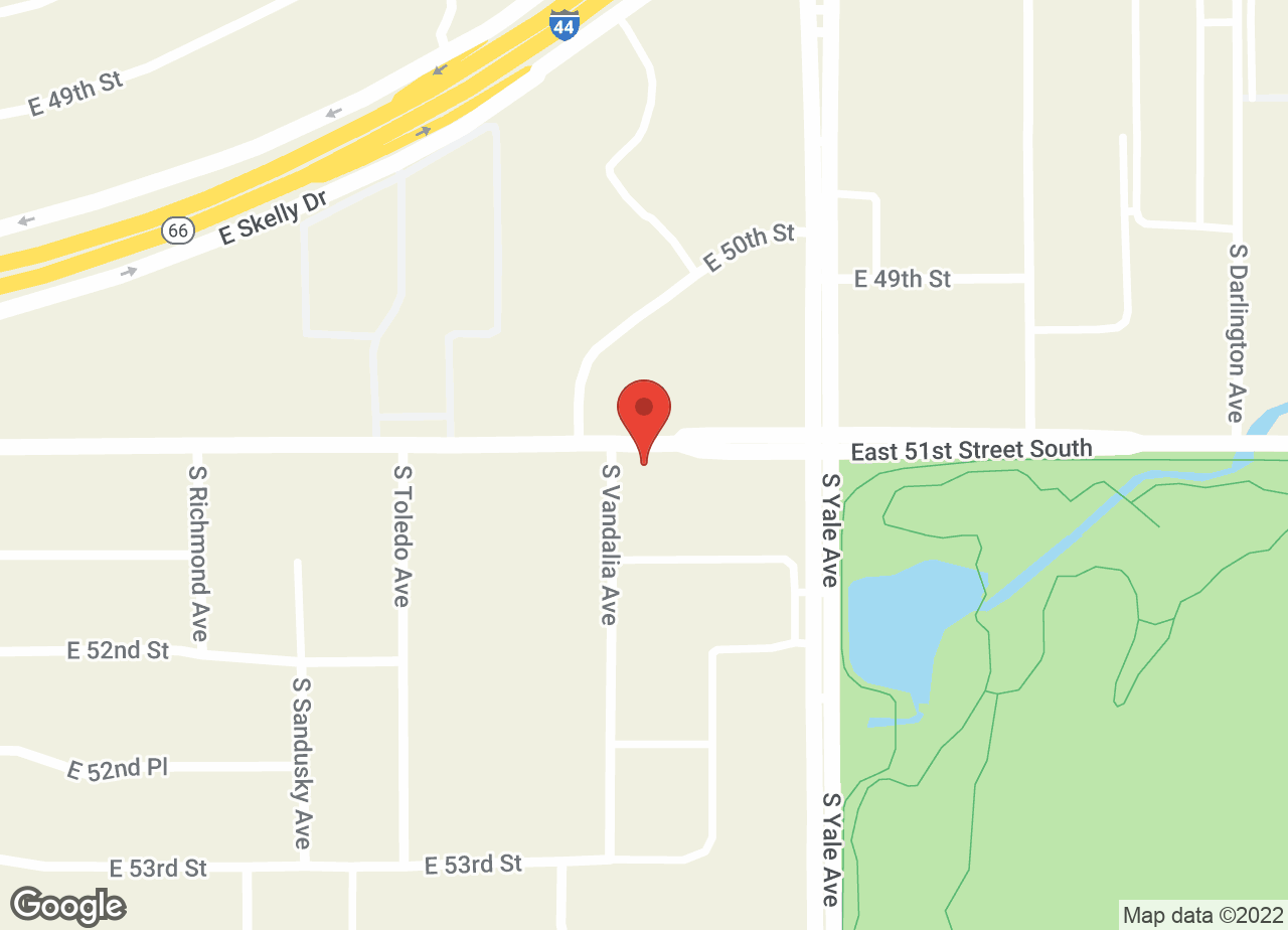 Google Map of VCA Woodland Central Animal Hospital