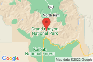 Map of Grand Canyon Area