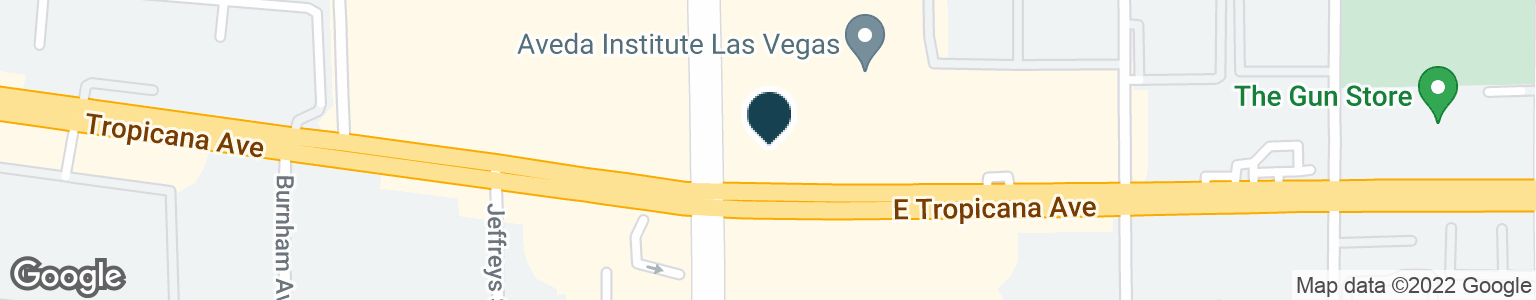 Google Map of2400 E TROPICANA AVE