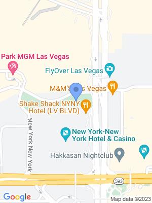 T-Mobile Arena Location