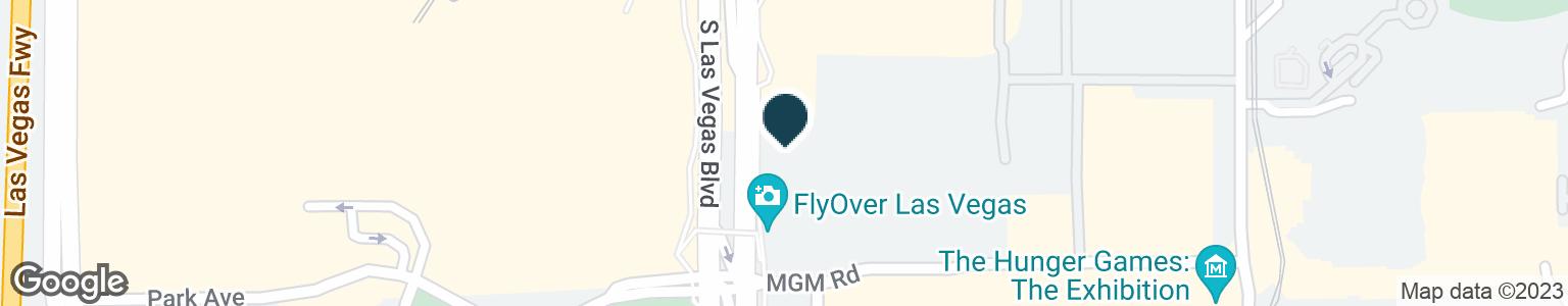 Google Map of3765 LAS VEGAS BLVD S