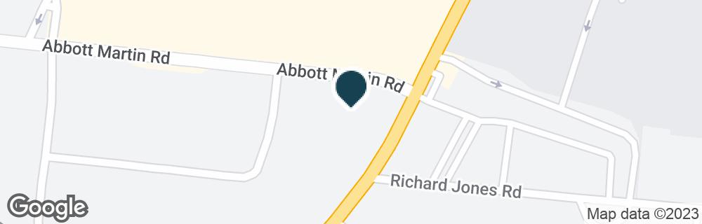 Google Map of3901 HILLSBORO PIKE