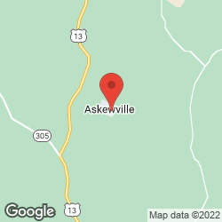 Askewville Baptist Church on the map
