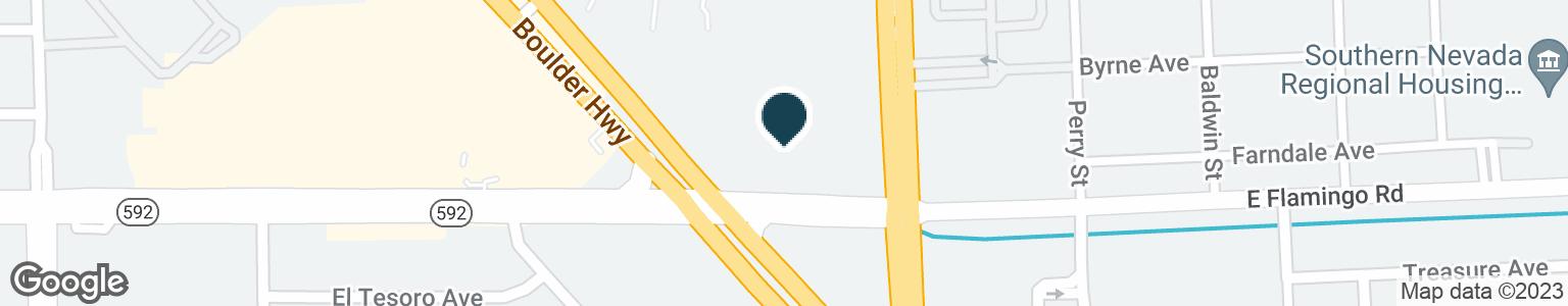 Google Map of4895 BOULDER HWY