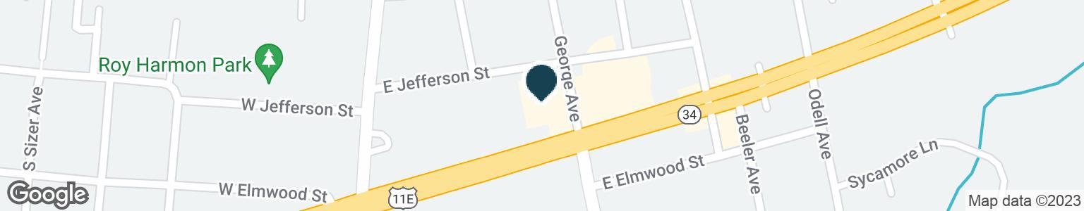 Google Map of132 E BROADWAY BLVD