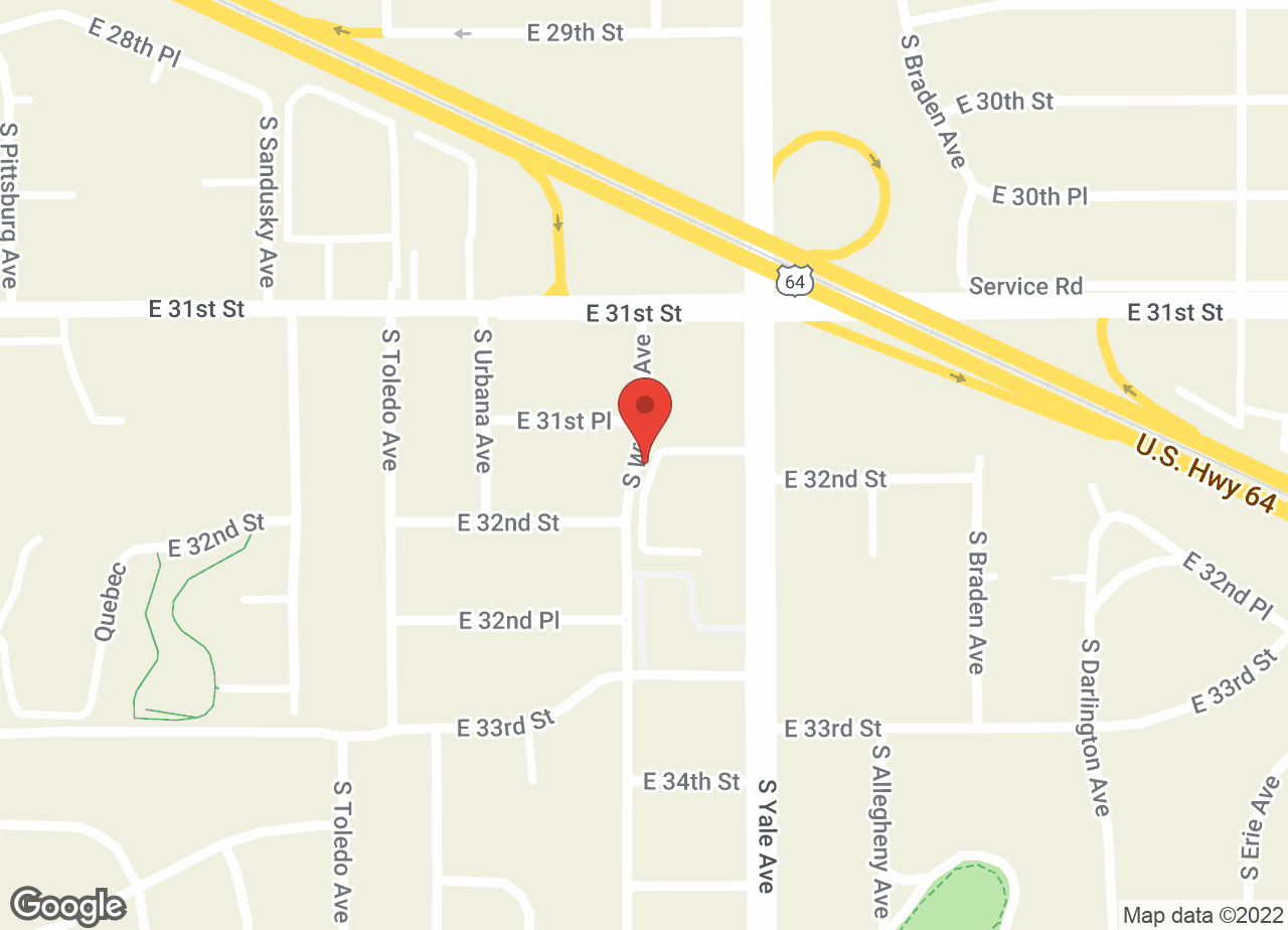 Google Map of VCA Veterinary Medical Center