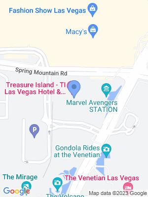 Mystere Theatre At Treasure Island - Las Vegas Location