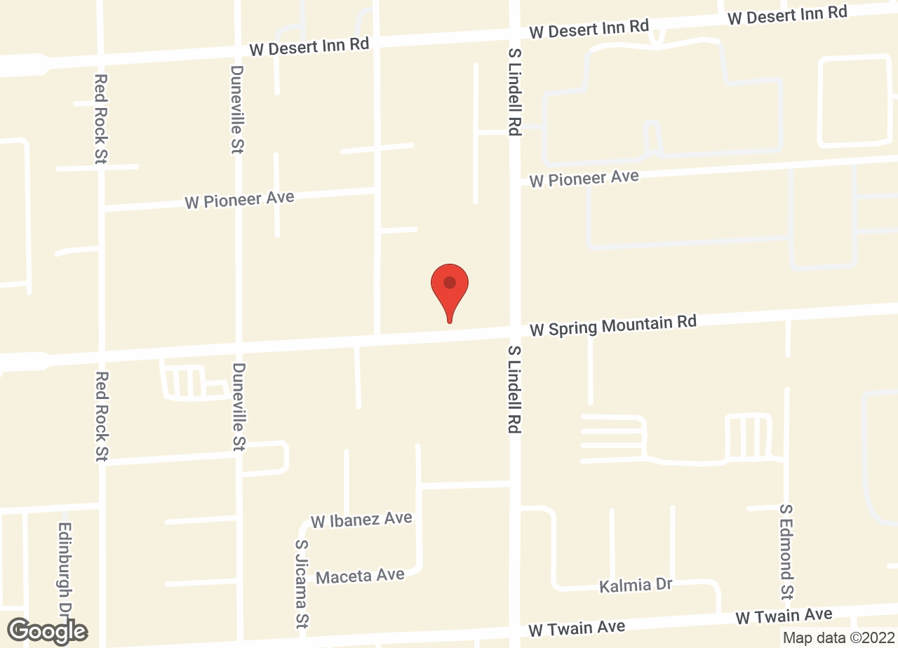 Google Map of VCA Spring Mountain Animal Hospital